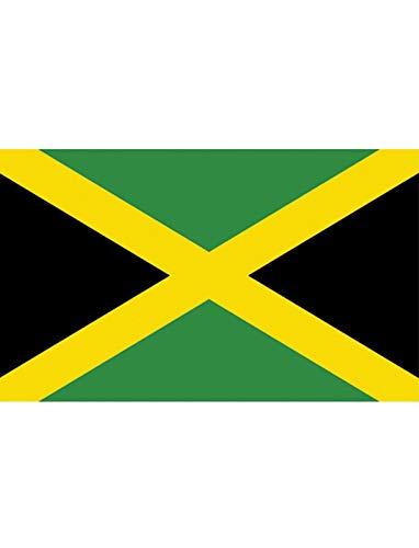 "TrendClub100® Fahne Flagge ""Jamaika Jamaica JM"" - 150x90 cm / 90x150cm"