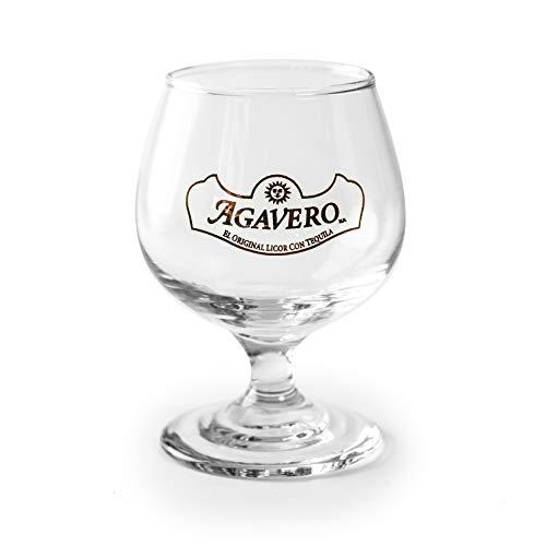 6 x AGAVERO Gläser Original NEU Profi Qualität Rarität Bar Party