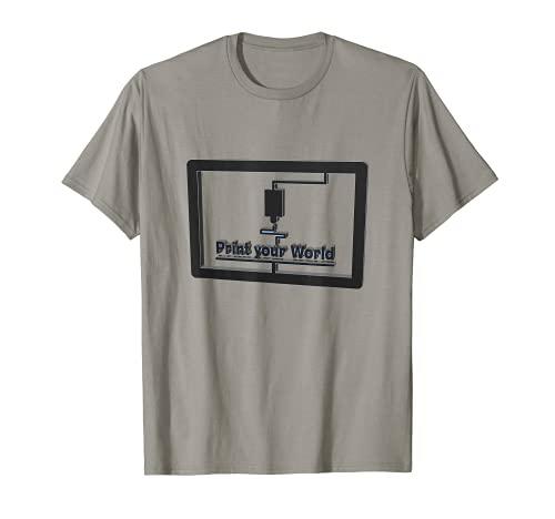 Print your World T-Shirt