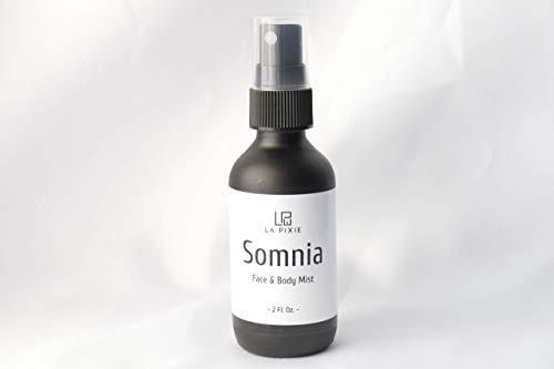 Sleep Spray, Lavender Pillow Mist, 100% Natural Essential Oils for Insomnia, Body, Room and Linen Aromatherapy. Deep Sleep Aid, Sandalwood, Bergamot 2fl oz