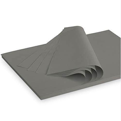 Seidenpapier Packseide farbig Dunkelgrau 35 g/qm 375x500 mm VE 2 Kg