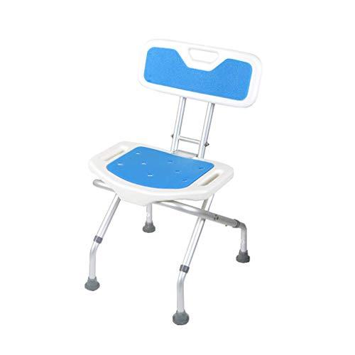 ZXY-NAN Bathroom Wheelchairs Folding Shower Stool - Adjustable Height | Shower/Bath Chair for Elderly People with Disabilities Or Pregnant Women Bath Stool,Bathroom