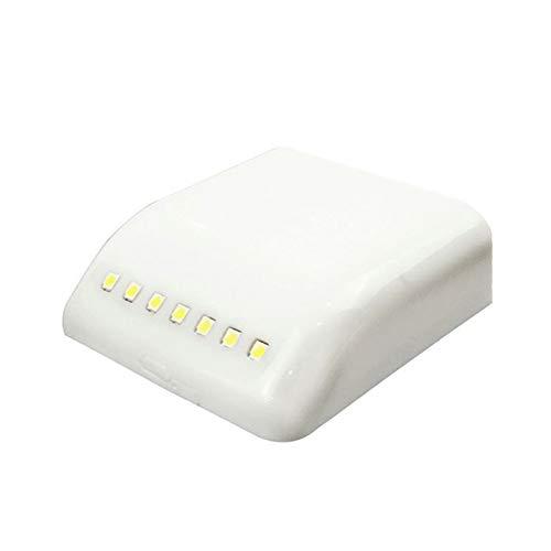 7 Luces LED para Debajo del Gabinete, Luz Universal para Guardarropas, Lámpara De Bisagra Interior con Sensor LED, Fácil De Instalar Y Conveniente De Usar, para Armario