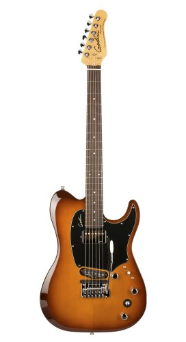 Guitarras eléctricas Godin Session Custom tripleplay lightburst roswewood neck + funda Telecaster