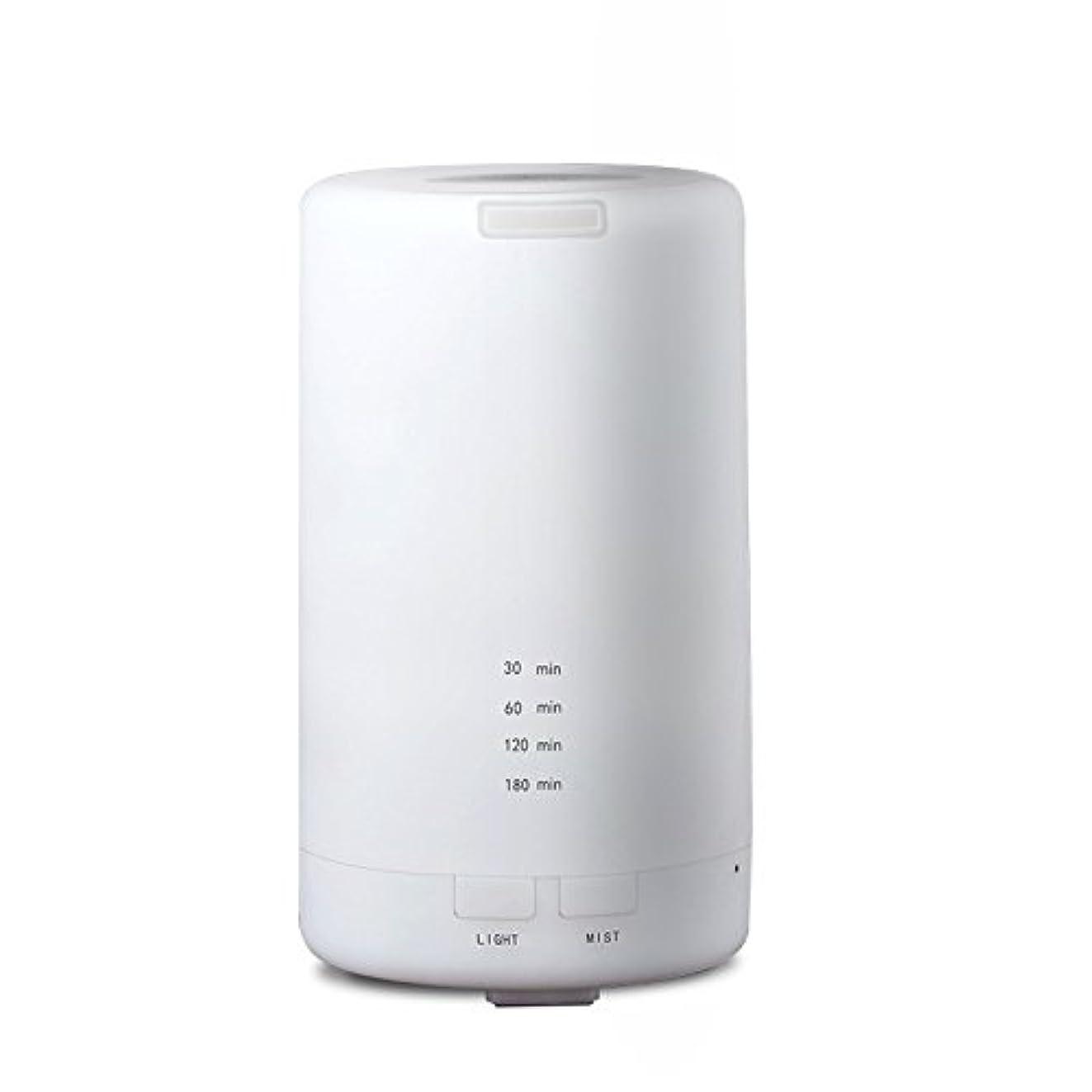 バーガー説教便宜RaiFu アロマディフューザー 70ml 加湿器 アロマテラピー浄化器 3タイマーモード LEDナイトライト USB充電