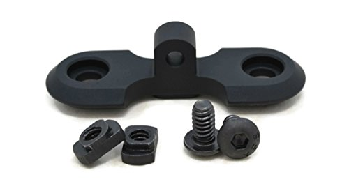 STNGR USA M-Lok Bipod Adapter Mount - Proudly Made in USA - Includes 2 T-Nuts & 2 Screws