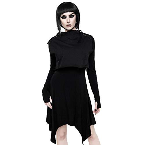 Killstar 2-in-1 Kleid mit Crop Top - Chalice XS