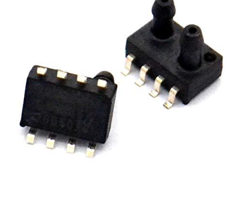 MiaoMiao XGZP6897A Sensor de presión diferencial 1KPA Ingesta Dual Sensor de presión Adecuado Flujo de Velocidad del Viento Service (Color : 5V 1000 1000Pa)
