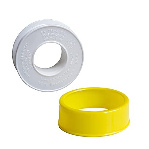 Teflonband 1 Rolle Gewindedichtband 12 Meter PTFE 12 mm Dichtband