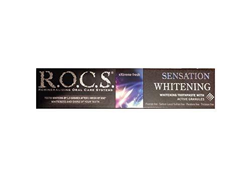 ROCS Sensation Whitening Zahncreme Zahnpasta r.o.c.s. 74g Zahnpflege Zahnweiss