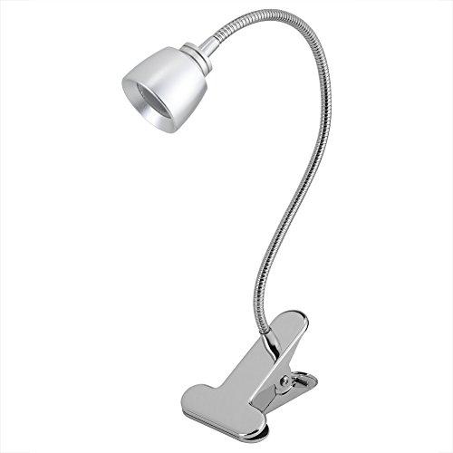 LED clip bureaulamp, hoofdbordlamp met sterke klem, boekenlamp, verstelbare leeslamp tafellamp voor bed hoofdeinde tafel woonkamer werkkamer - werkverlichting