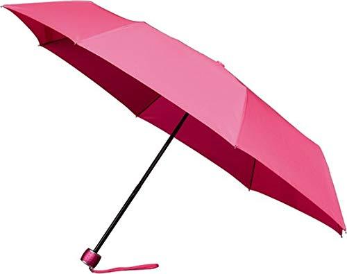 IMPLIVA LGF-202-PMS806C paraplu Compact Rain umbrella Roze Glasvezel Polyester