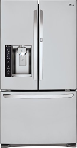 LG LFXS27566S French Door Refrigerator with 27 Cu. Ft. Capacity in...