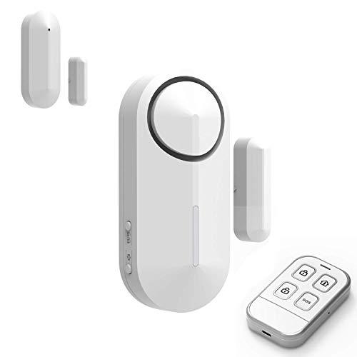 Safe2Home® Mini Alarm Basis Set bis zu 16 Sensoren - Funk Alarmanlage Set mit Sabotageschutz – Alarmanlagen fürs Haus Büro inkl. Zubehör und Sensoren