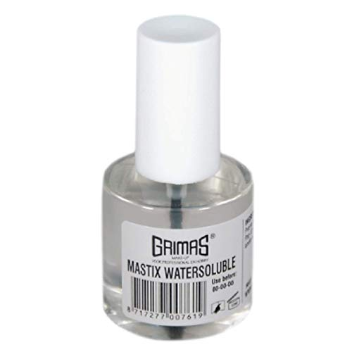 Grimas - Pegamento soluble, Mastix Watersoluble, 10 ml (2060100007)