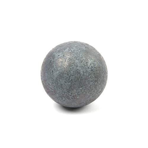 test Einteilige Stahlkugel, einteilige Kugel, Edelstahl S235, ST37, geschmiedete Oberfläche, Durchmesser 40… Deutschland