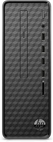HP Slim S01-pF1003ng Desktop PC (Intel Core i3-10100, 8GB DDR4 RAM, 1TB HDD, 256 GB SSD, Intel Grafik, Windows 10) schwarz