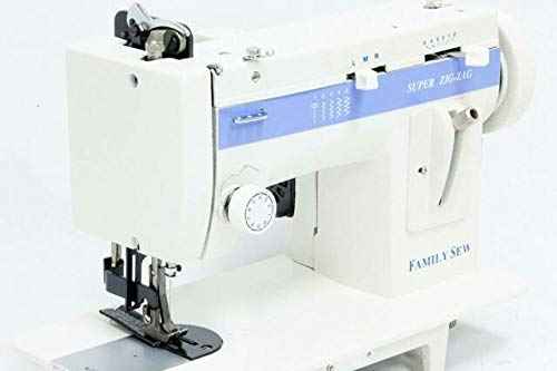 Walking-Foot Straight & Zigzag semi-Industrial Portable Sewing Machine