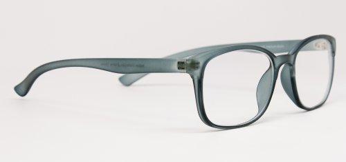 Computer Glasses by Phonetic Eyewear Bravo (Slate)