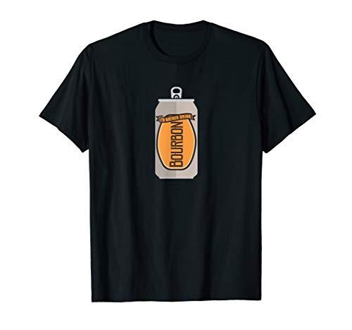Scotch Bourbon and Liquor Party Whiskey /& Soda Womens Black T-Shirt
