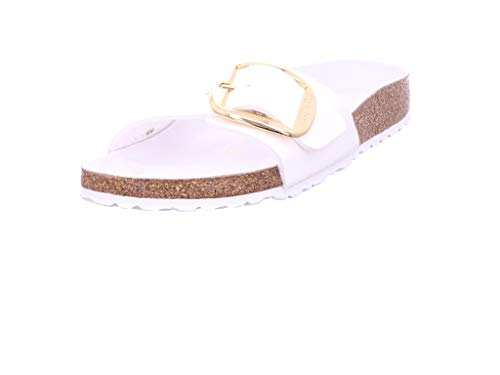 BIRKENSTOCK Madrid Big Buckle BF Damen Sandale, Größen Schuhe :37 EU