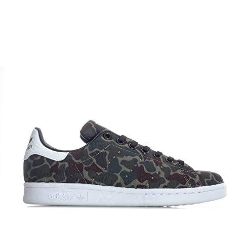 adidas Originals Stan Smith Damen Sneaker Sportschuhe Nightcargo Camouflage, Schuhgröße:36 2/3 EU, Farbe:Khaki