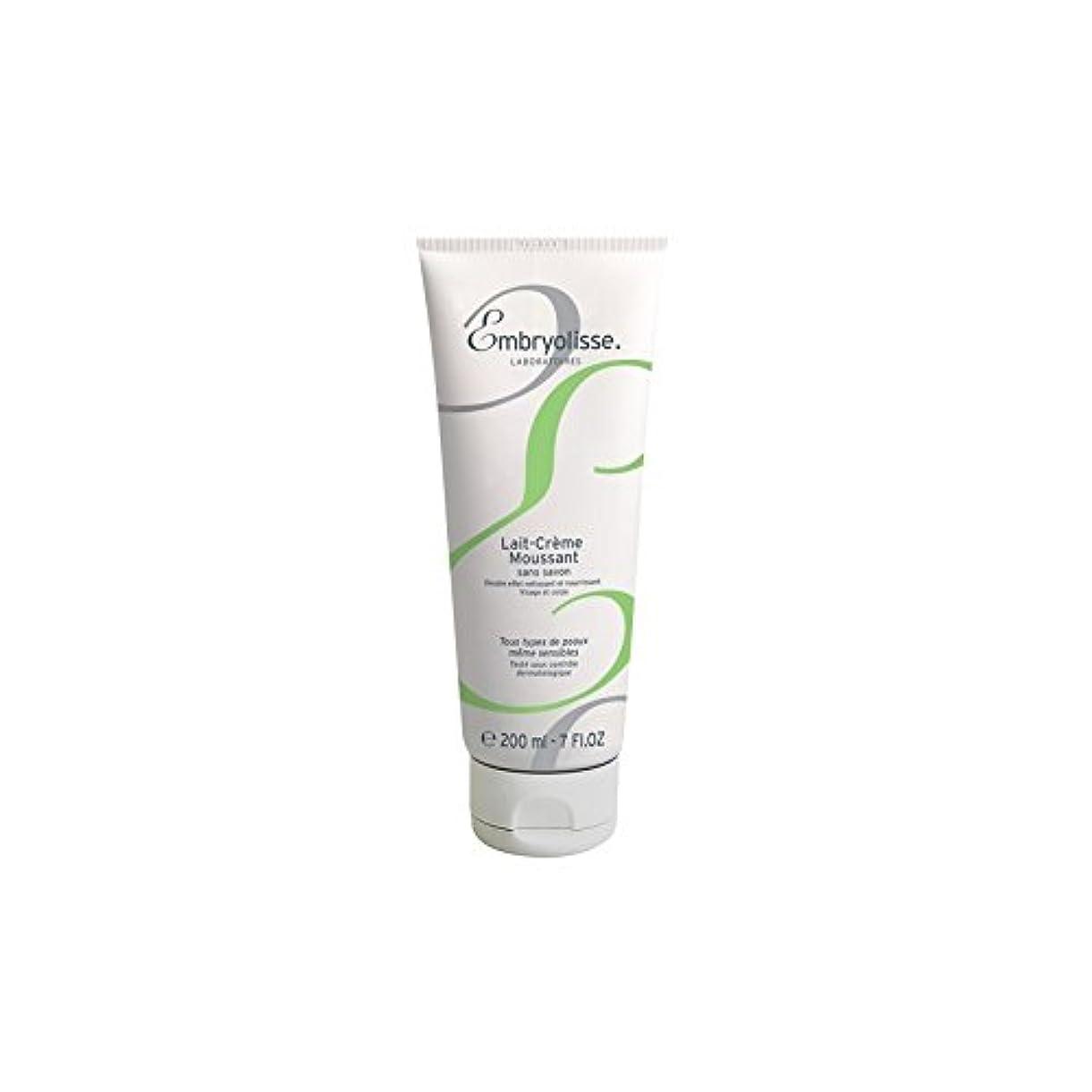 航空便たぶんマークEmbryolisse Foaming Cream Milk (200ml) - 発泡クリームミルク(200ミリリットル) [並行輸入品]