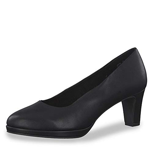 Marco Tozzi 2-2-22412-33, Zapatos con Plataforma Mujer, Negro (Black Antic 002), 39 EU
