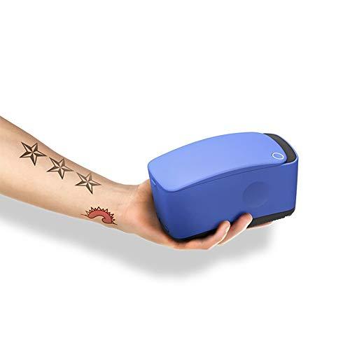 KJRJWS Tattoo-Drucker, Farb Automatische 3D Painless bewegliche schnelle Tätowierung, tragbare Tintenstrahldrucker Karton Kleidung Drucker