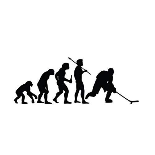 Auto Autoaufkleber Aufkleber Sport Mode Hockey Evolution Vinyl Auto Aufkleber 15.2CM * 5.6CM 2 Stk