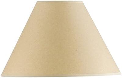 Cal Lighting SH-1074 9-1/4-Inch Side Kraft Paper Shade, See Image