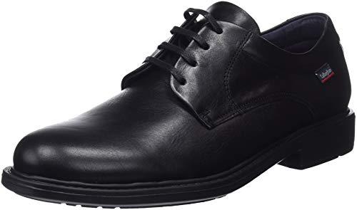 Callaghan Cedron, Zapatos de Cordones Derby Hombre, Negro (Negro 1), 44 EU