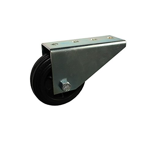 Stützrollen Rad 80 mm Räder Torrolle Rollen Stützrad Torlaufrolle verzinkt GU
