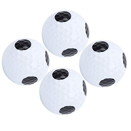 Asixxsix Pelota de práctica de Golf, Suministro de Golf, Pelota de Golf de Doble Capa, Campos de Golf, Amantes del Golf, fácil de Usar, Duradera