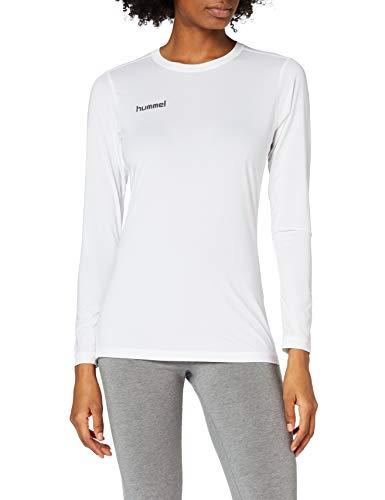 Hummel Damen First PERF Long Sleeve WO Jersey Trikot, Weiß, L