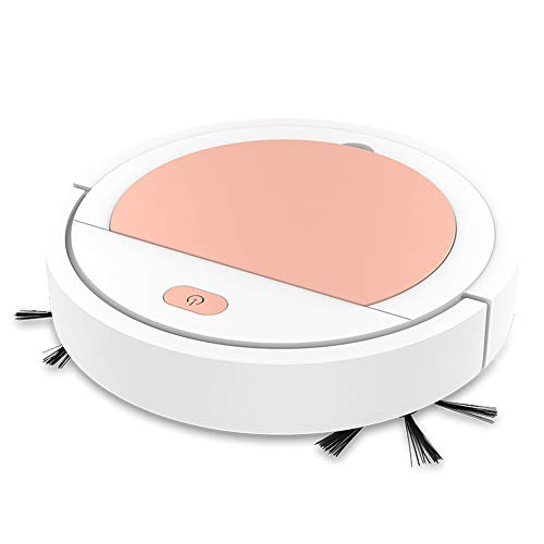 Galapar Robot Aspirador, Mini Escoba de vacío Inteligente USB Recargable hogar seco Robot barrendero húmedo para Suelos Duros y alfombras de Pelo Corto