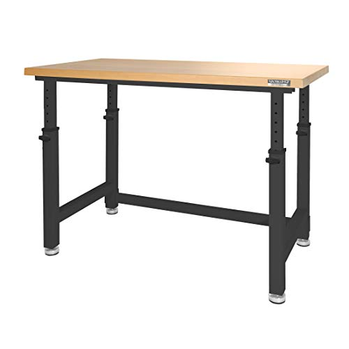 Seville Classics UltraHD Workbench Desk Table, 48