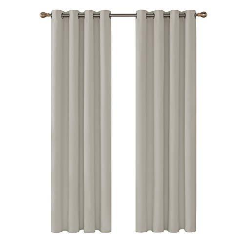 cortinas salon modernas 2 piezas puerta terraza