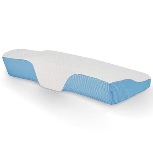 Cervical Massage Deep Sleep Neck Pillow Memory Pillow, Adjustable Sandwich Memory Foam Pillow for Sleeping, Cervical Pillow for Neck Pain, Orthopedic Contour Pillow for Back, Stomach, Side Sleepers De