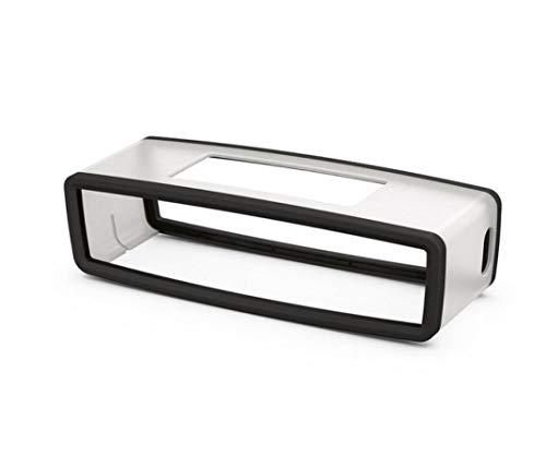Colorful Für Bose SoundLink Mini Bluetooth Lautsprecher Schutzhülle, Mini Lautsprecher Silikon Tragetasche Travel Box Hülle Case Schutz für Bose SoundLink Mini Bluetooth Lautsprecher (Schwarz)