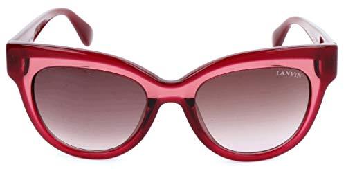Lavin Lanvin Sonnenbrille SLN750M 099N 50 19 140 Cateye Sonnenbrille 50, Rot