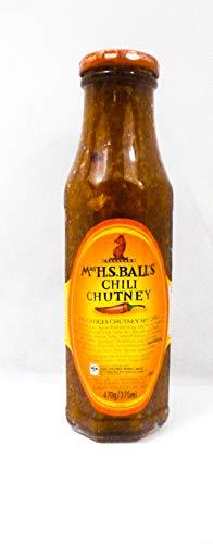 Mrs . H. S. Ball's Fruchtiges Pfirsich / Chili Chutney , 470 g