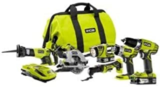 Ryobi 18-Volt ONE+ Lithium-Ion Ultimate Combo Power Tool Kit (6-Tool) - Model: P884 by Ryobi