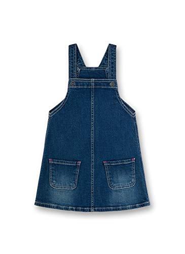 Sanetta Mädchen Latzkleid Kleid, Blau (Blau 9567), 98 (Herstellergröße: 098)