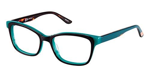 gx by GWEN STEFANI Women's GX 002 Navy/Green 50mm Eyeglasses, Size...