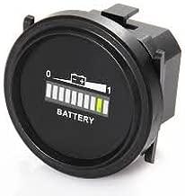 NEW Golf Cart LED Battery Indicator Discharge Meter Club Car EZ-GO Yamaha