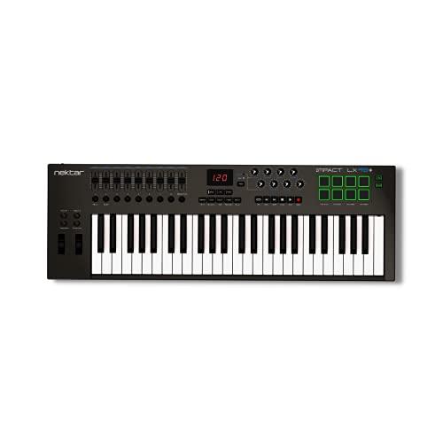 Nektar Impact LX49+ Keyboard Controller, MultiColored