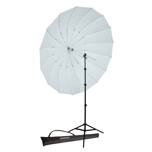 Westcott 4632P 7-Feet Parabolic Umbrella Speedlite Kit (White Diffusion)
