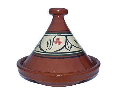 Marokkanische Tajine zum Kochen Ø 35 cm für 3-5 Personen - 905118-00092