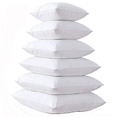 Cojín Interior Llenado Interno de Almohada Acolchada con Acolchado de algodón para sofá Cojín de Almohada Suave Cojín Inserte Core de cojín 14/16/18/20/22/24 Pulgada (Specification : 60x60CM)